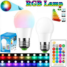 E27 10W LED RGB 16 Color Changing Magic Lamp Light Bulb With IR Remote Control