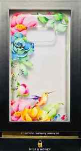 Milk & Honey Fashion Case Protection Flower For Samsung Galaxy S8 #849