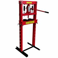 6/12/20 Ton Hydraulic Shop Press Workshop Garage Tool Floor Bearing Heavy Duty