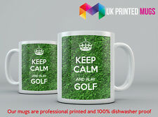 Keep Calm and Play Golf Mug