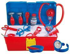 Kids boîte Carrycase médical médecins infirmière playset pretend play kit de soins infirmiers infirmière