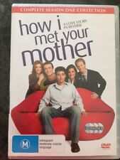 How I Met Your Mother : Season 1 (DVD, 2007, 3-Disc Set) R4 AS NEW FREE POST