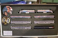 """N Con-Cor """"Whistle Stop"""" Tour Train for 1996 Election, with buttons 1-8521 - NEW"""