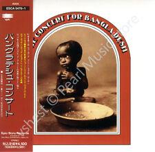 GEORGE HARRISON CONCERT FOR BANGLADESH 2 CD MINI LP OBI Beatles album new sealed