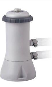 Pompa Intex 28638 Filtrante per Piscine Fuori Terra - Grigia- 2,7m3/h