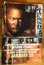 KILLER MIKE Monster 12x18 original record store promo poster 2sided flat