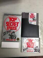 NINTENDO TOP SECRET EPISODE GOLGO 13  NES COMPLETE IN BOX