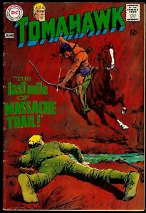 Tomahawk #116...4.5/5.0 VG+/Fine-.....First Neal Adams Cover