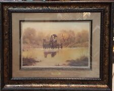 """** """"COURTIN"""" DAYS"""" LIMITED EDITION PRINT BY G. HARVEY Framed"""