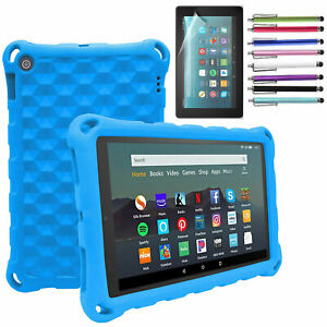For Amazon Kindle Fire 7 HD 10 2019 9th Gen Tablet Case Kids Shockproof Cover