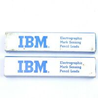 IBM Electrographic Mark Sensing Pencil Leads Vintage - 2 Boxes (Lot A)