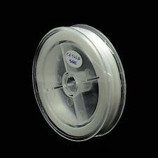 Gummifaden 80 m für Armbänder elastisch weiß 0,6 mm Schmuck nenad-design R187