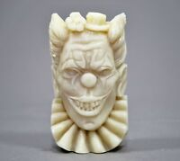CLOWN SILICONE MOULD SOAP RESIN PLASTER CLAY WAX MOLD  5,5OZ HORROR JOKER
