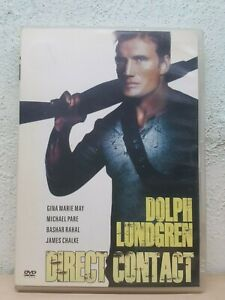 Direct Contact DVD Action Thriller - Dolph Lundgren Michael Pare Gina May REG 1