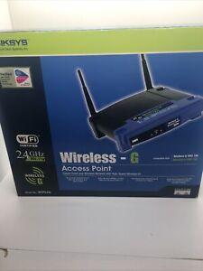 Linksys WAP54G Wireless G Access Point 2.4 GHZ New
