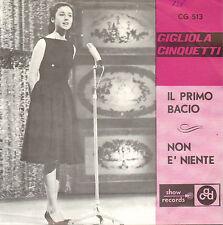 """GIGLIOLA CINQUETTI – Il Primo Bacio (1965 VINYL SINGLE 7"""" BELGIUM PS)"""
