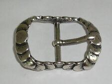 Gürtelschnalle Schließe Schnalle Verschluss 4 cm altsilber NEU rostfrei 0332