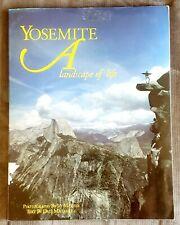 ☆Good Ex-Lib Book:Yosemite Park:A Landscape Of Life By Jay Mather+Dale Maharidge