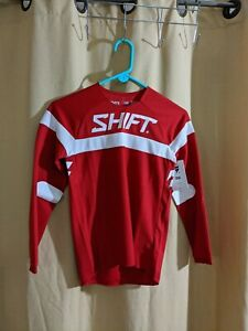 Shift White Lable Haut Jersey Red/White Youth Medium