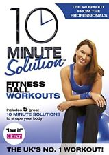 10 Minute Solution  Fitness Ball Workouts [DVD] [2006]