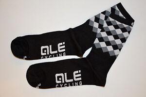Alé Ale Rumbles Bicycle Socks 16cm Waist Height Black/Pattern Black