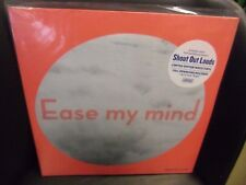Shout Out Louds Ease My Mind LP NEW WHITE Colored vinyl + Flexi + download