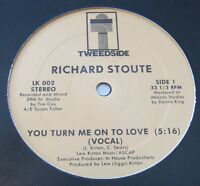 "Richard Stoute - You Turn Me On To Love 12"" Tweedside BOOGIE FUNK MODERN SOUL"
