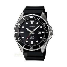 Casio MDV106-1A Analog Sports Dive Watch Black Resin Band NEW