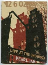 Pearl Jam Live at the Showbox DVD - New & Sealed - Concert Tour - Seattle