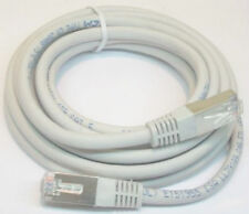 (2) 10 Ft. Cat 5 Phone Internet Ethernet Cable Patch Extension Cord