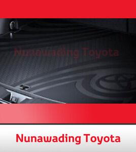 NEW GENUINE TOYOTA RAV4 RUBBER CARGO MAT W/ SPACE SAVER SPARE 2012 ON PZQ2042250