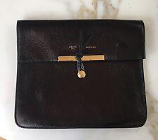 Fabulous Phoebe Philo Celine Black Leather Clutch Bag