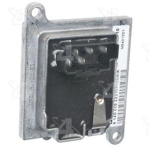 HVAC Blower Motor Resistor-Resistor Block Rear 4 Seasons 20409