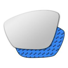 Left wing self adhesive mirror glass for Peugeot 308 2013-2019 671LS