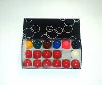 "1 1/2"" (3.81cm) SNOOKER BALL SET FOR HOME USE TABLE"