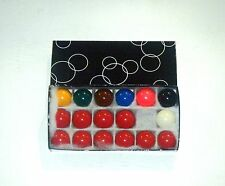 "1 1/2"" Snooker Ball Set"