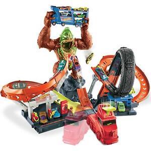 Hot Wheels Toxic Gorilla Slam Track set New/boxed