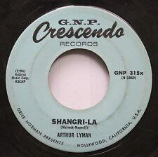 Rock 45 Arthur Lyman - Shangri-La / Pearly Shells On Crescendo