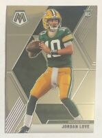 Jordan Love Rookie Card RC 2020 Panini Mosaic Football #211 Base NFL Packers QB