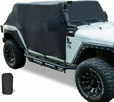 Cab Cover Car Cover for 2007-2020 Jeep Wrangler JK JKU JL JLU