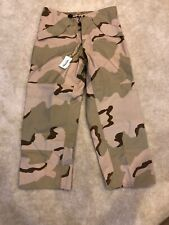 US Military Gore-Tex Desert Camo Pants Size M Medium Men's
