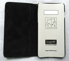 Original Bugatti Oslo cognac Book Case Schutzhülle Iphone 6 Plus 6 Plus schwarz