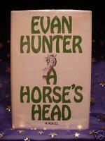 A Horse's Head Evan Hunter HC/DJ 1st Humorous Novel