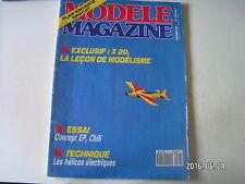 **b Modèle Magazine n°473 Ep Kyosho / Chili de Graupner / Super Tigre S 45 ABC