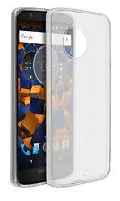 mumbi Schutzhülle für Motorola Moto G6 Hülle Case Cover Slim Schutz Tasche klar