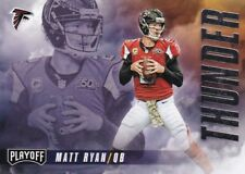Matt Ryan, Julio Jones - 2016 Panini Playoff, Pennants,Thunder & Lightning