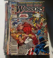 New Warriors #12 1991 Marvel Comics Mark Bagley xmen beast havoc mutant rebellio