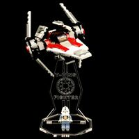 Acryl Display Stand Acrylglas Standfuss für LEGO 6205 V-Wing Fighter