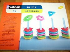 Shape & Color Pattern Sorting Dexterity Hand Eye Coordination Toy Autism Abacu