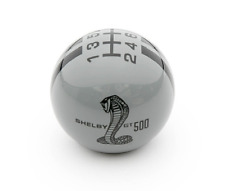 Ford Mustang Shelby GT500  Shift Knob - Grey w/ Black Stripes
